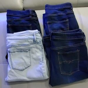 4 Pair of Ny and Co Jeans